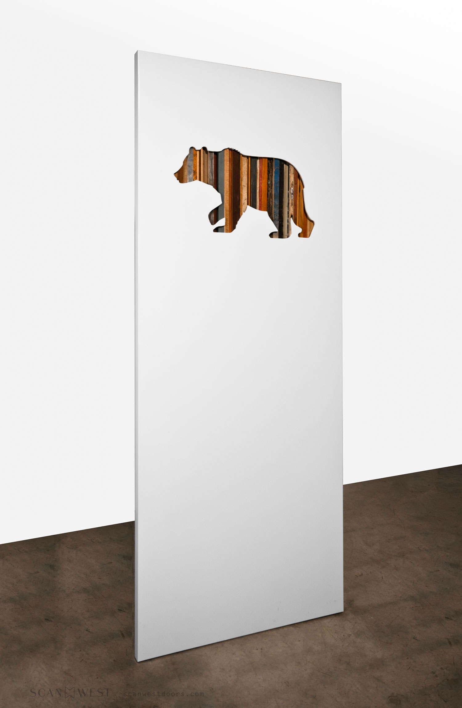 ScanWest Doors - SILHOUETTE - Interior Door - Bear