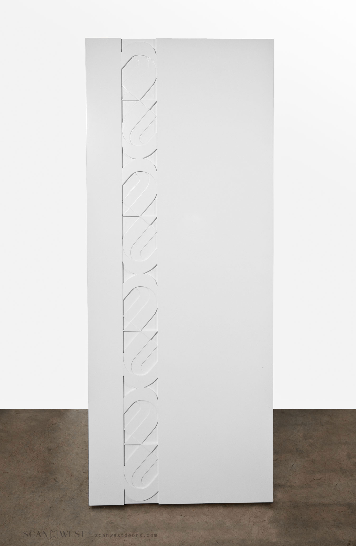 WEGNER   Custom Modern Graphic Design Door