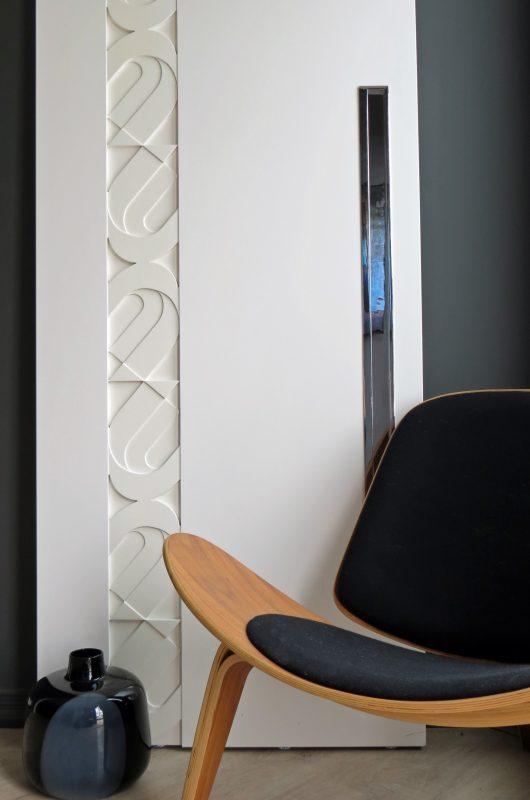 WEGNER - Custom Modern Graphic Design Door