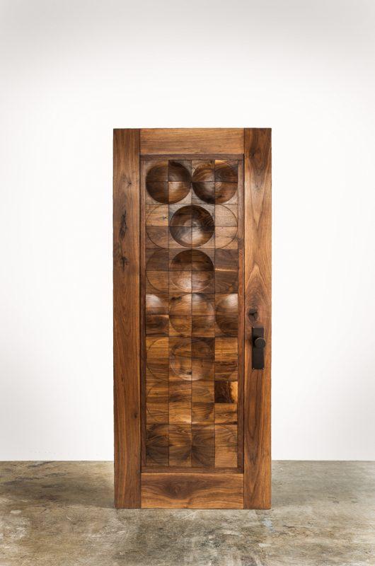 CAPRON-Designer-Door-Exterior-Walnut-Mid-Century