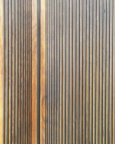 DIVIDE - Contemporary Walnut Door
